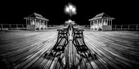 Cromer Pier at night 10in x 20in (approx size) £150 - 9 of 10 left