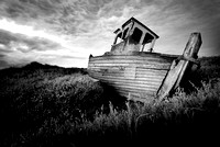 Old decaying boat at Thornham harbour 12in x 17in (approx size) £150 - 9 of 10 left